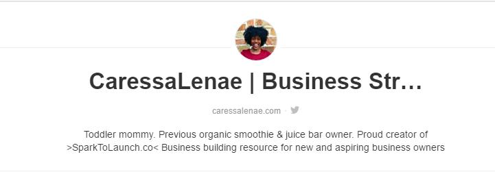 Check out Caressa Lenae's amazing Pinterest boards at  https://www.pinterest.com/CaressaLenae/