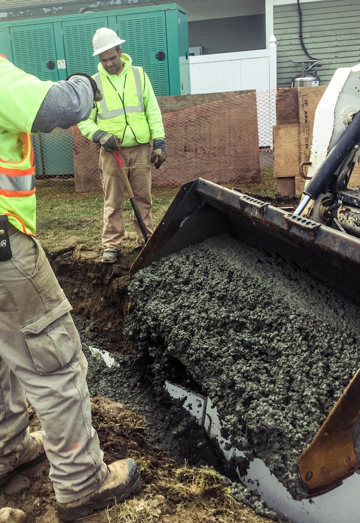 Breaking ground in Natick, Massachusetts