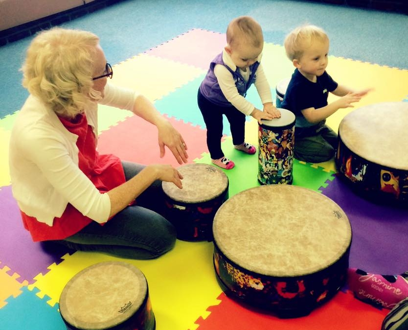 Mixed Aged Classes - Ages Birth to 5!