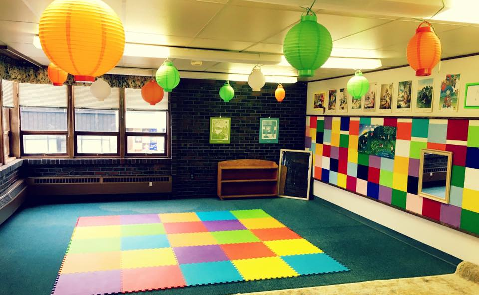 our colorful classroom is bright and cheery!