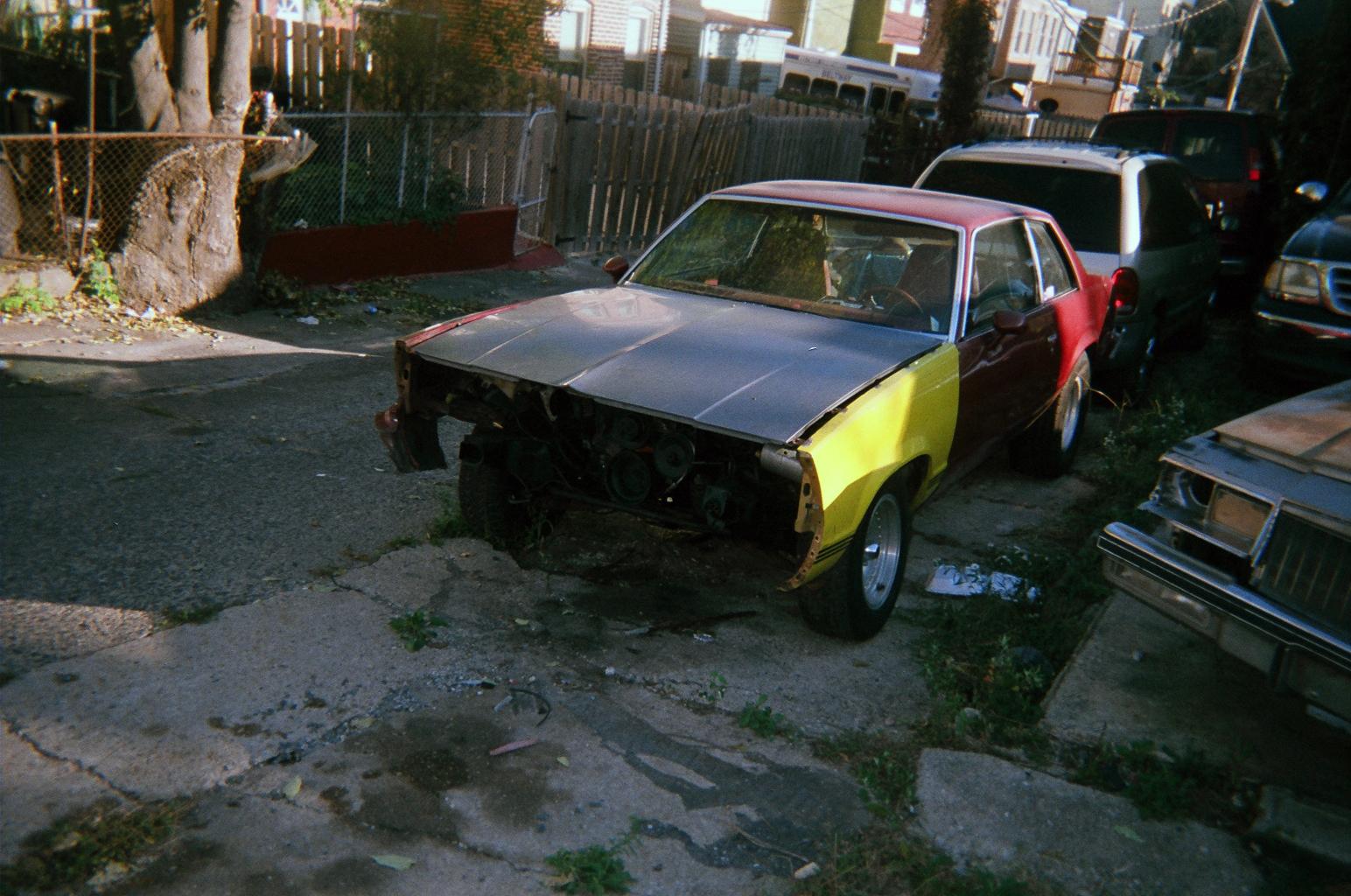 demi for book 2 -- old car near Johns hopkins hospital.JPG