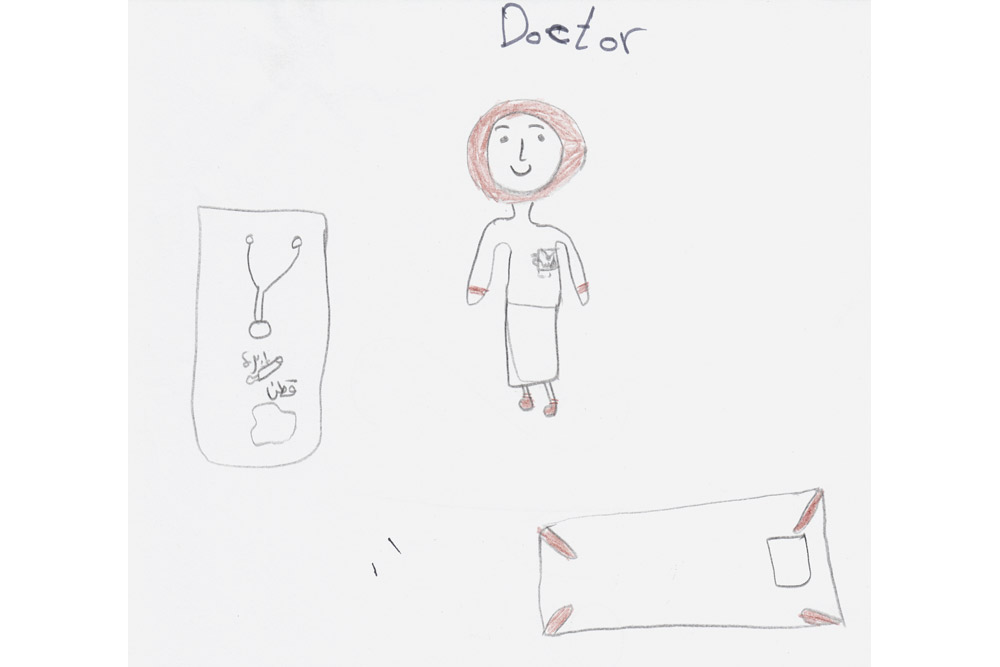 Other children, both girls and boys, also shared their dreams of being doctors and astronauts. Despite all they have been through, the refugee children have the same aspirations (and abilities) as their peers around the world. They only need a chance and the proper support.
