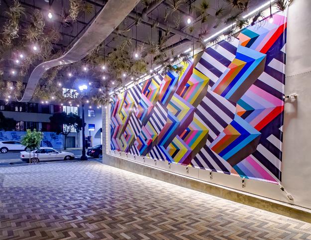 "Current , 2017  14'8"" x 44'  IDEA1, San Diego, CA"