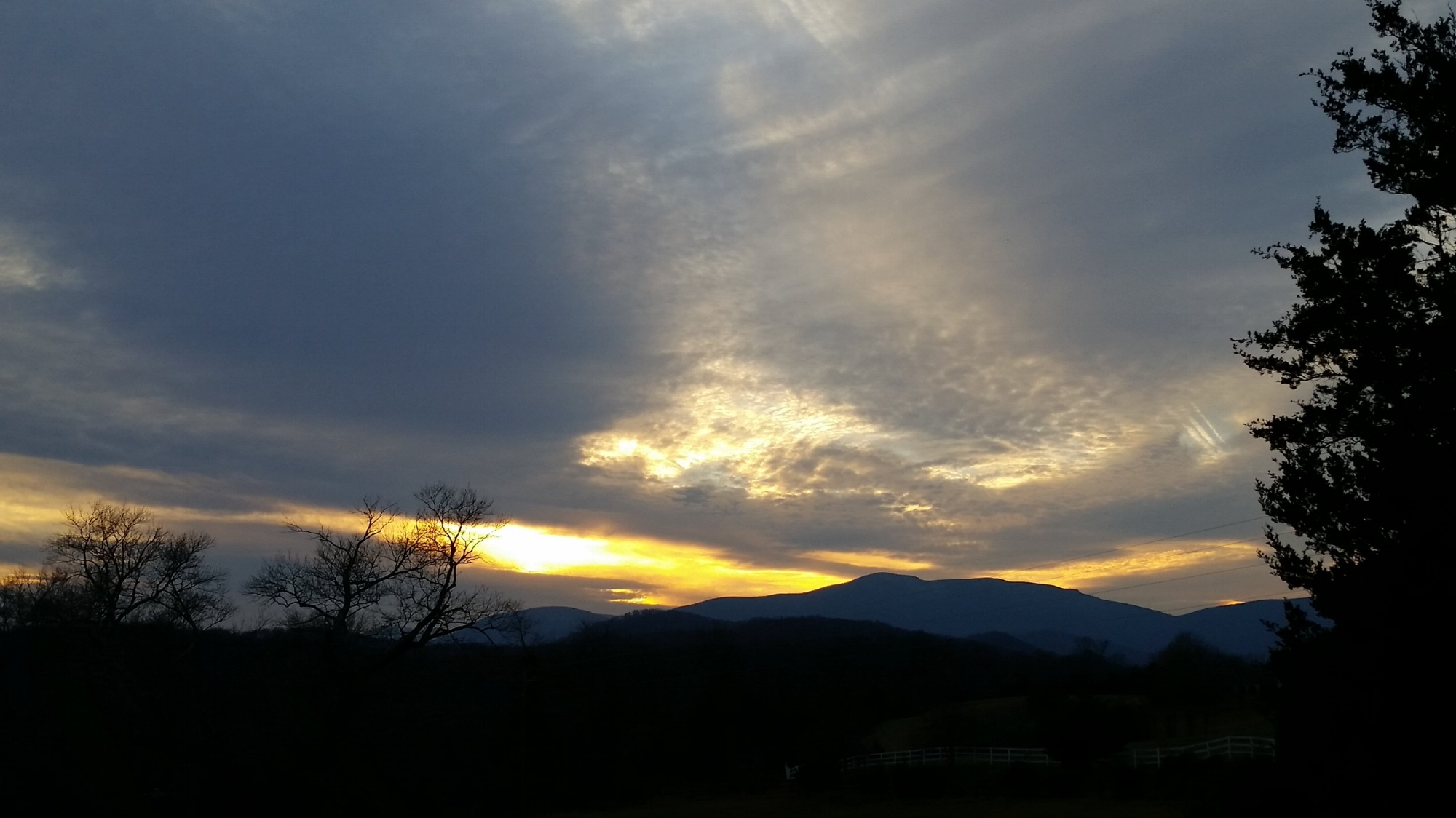 december 14 sunset