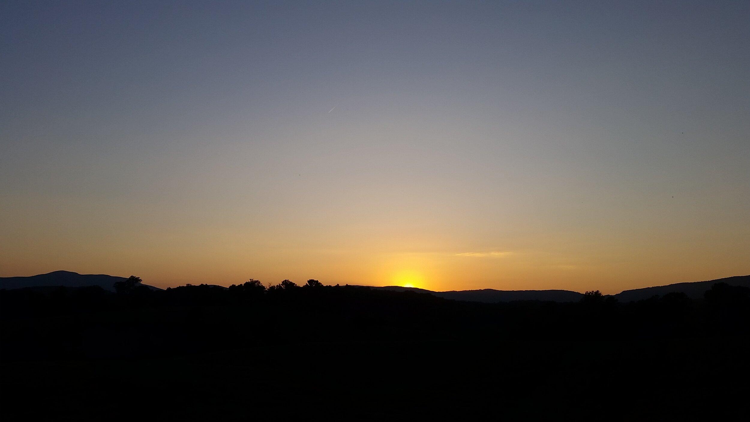 Final summer sunset 2019.