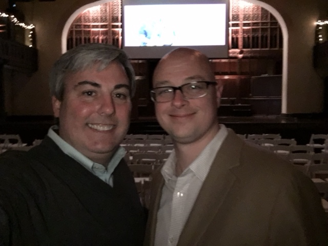 Tobias Roediger, AAF President and I at last night's 2016 Columbus American Advertising Awards.