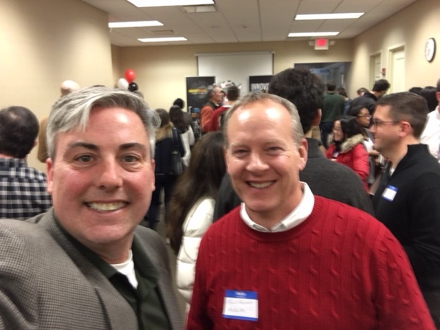 Mark Armbrust  and I at last night's Innovate New Albany event.