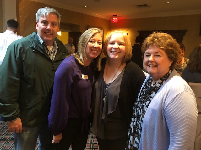 I got the chance to hang out with some of the CityScene Columbus team. Gianna Barrett (L), Jamie Armistead and Susan Curran.