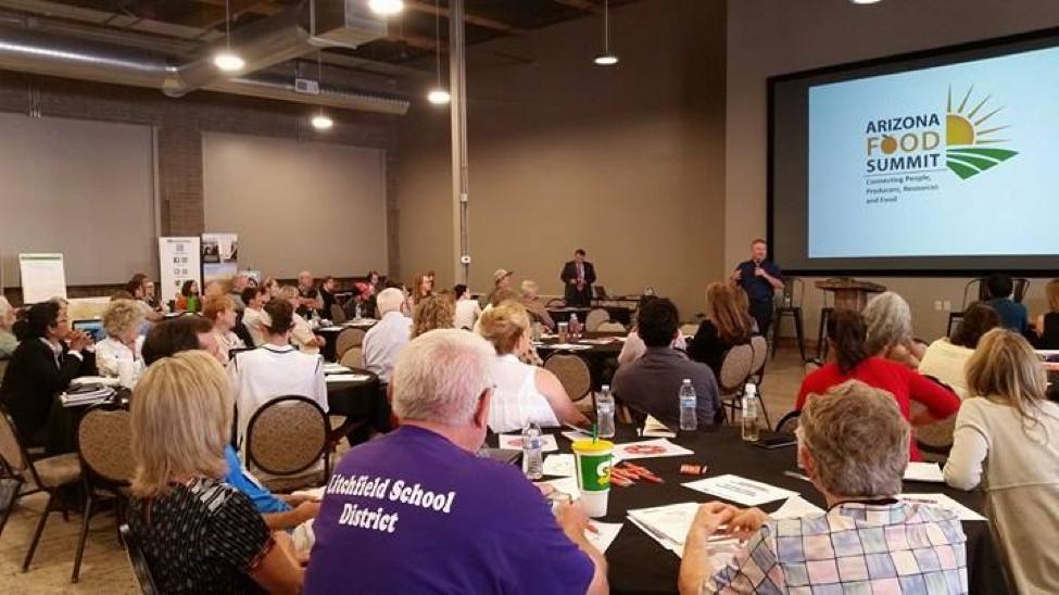 The 2017 Arizona Food Summit begins.