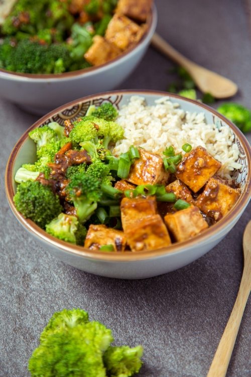 A delicious vegetarian meal. What can you make without meat this month?