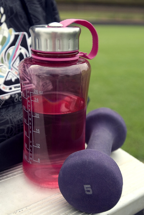 Reusable bottles are great for the gym or getting outside!