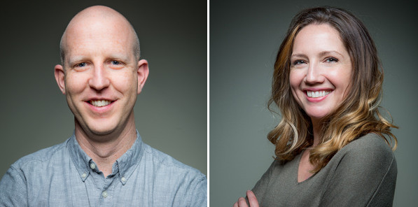 Isaac (L) and Katherine (R) are startup ecosystem builders in Anchorage, AK.