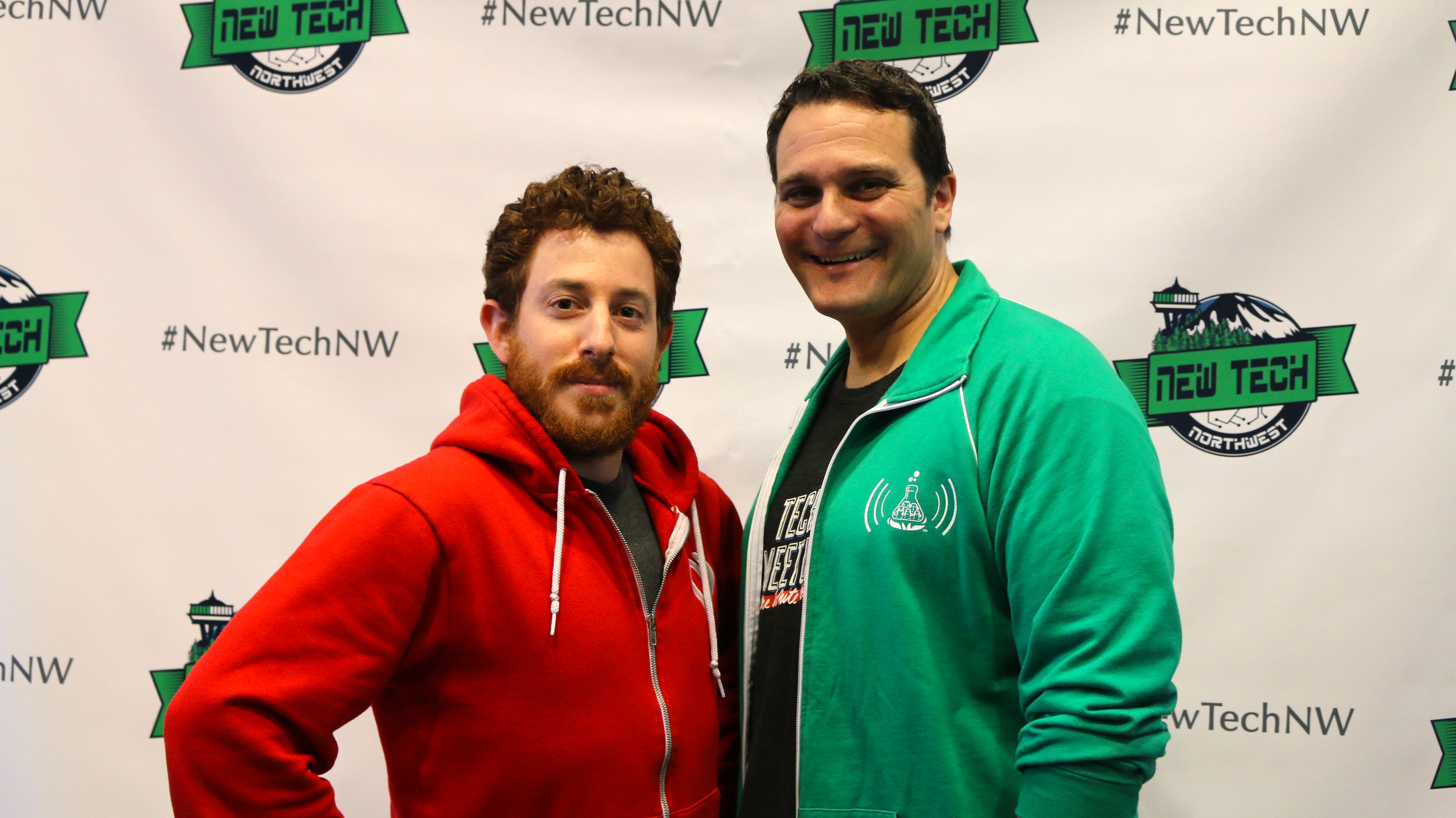 Red Russak (L) and Brett Greene (R)co-founded New Tech Seattle and are startup ecosystem builders in the greater Seattle region.
