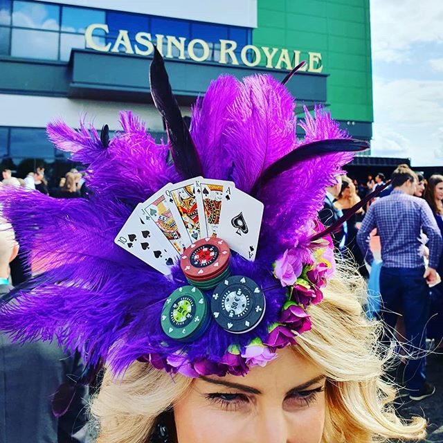 Yesterday I experienced my very first Secret Cinema and it was FABULOUS! 💜 We completed Operation Wildcard and had a martini or two 🍸 and OF COURSE I made a new headpiece! Showcasing my rather extravagant Poker Face headpiece ♥️♠️♦️♣️ Now I just have to learn how to play... #thehatologist #hatology #victoriawright #stylist #styling #style #fashion #stylistlife #millinery #hats #headpieces #bespoke #jamesbond #secretcinema #casinoroyale #pokerface #qbranch #jezebelblackthorn #operationwildcard #royalflush