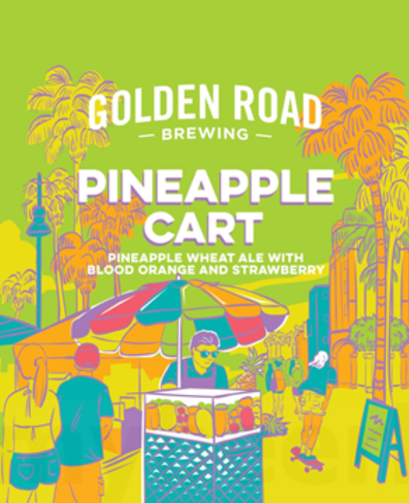Golden Road Pineapple Cart.png