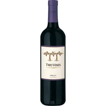 Two Vines Merlot - Bottle.png
