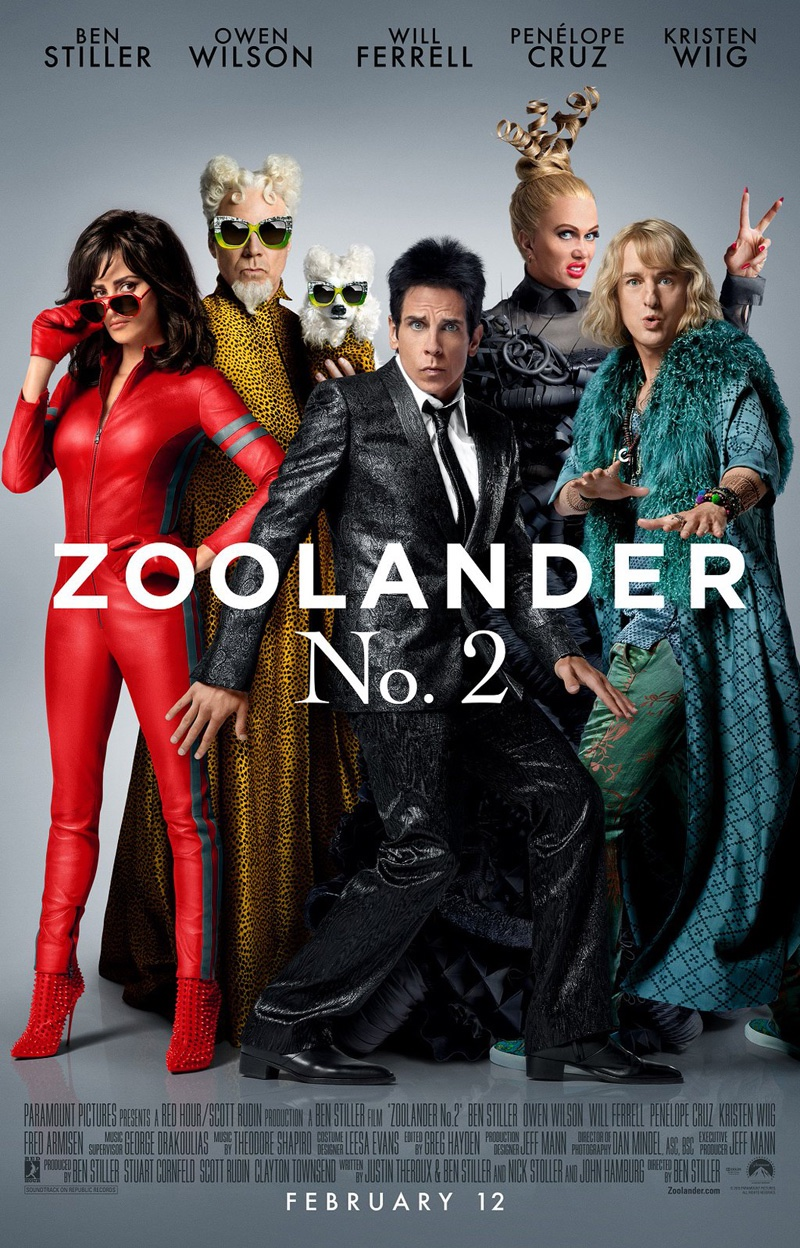 Synopsis: Ben Stiller returns both in front of and behind the camera for Zoolander 2, a comedy that finds the beloved model Derek Zoolander (Stiller) and his rival-turned-partner Hansel (Owen Wilson) facing a threat to their continued success.