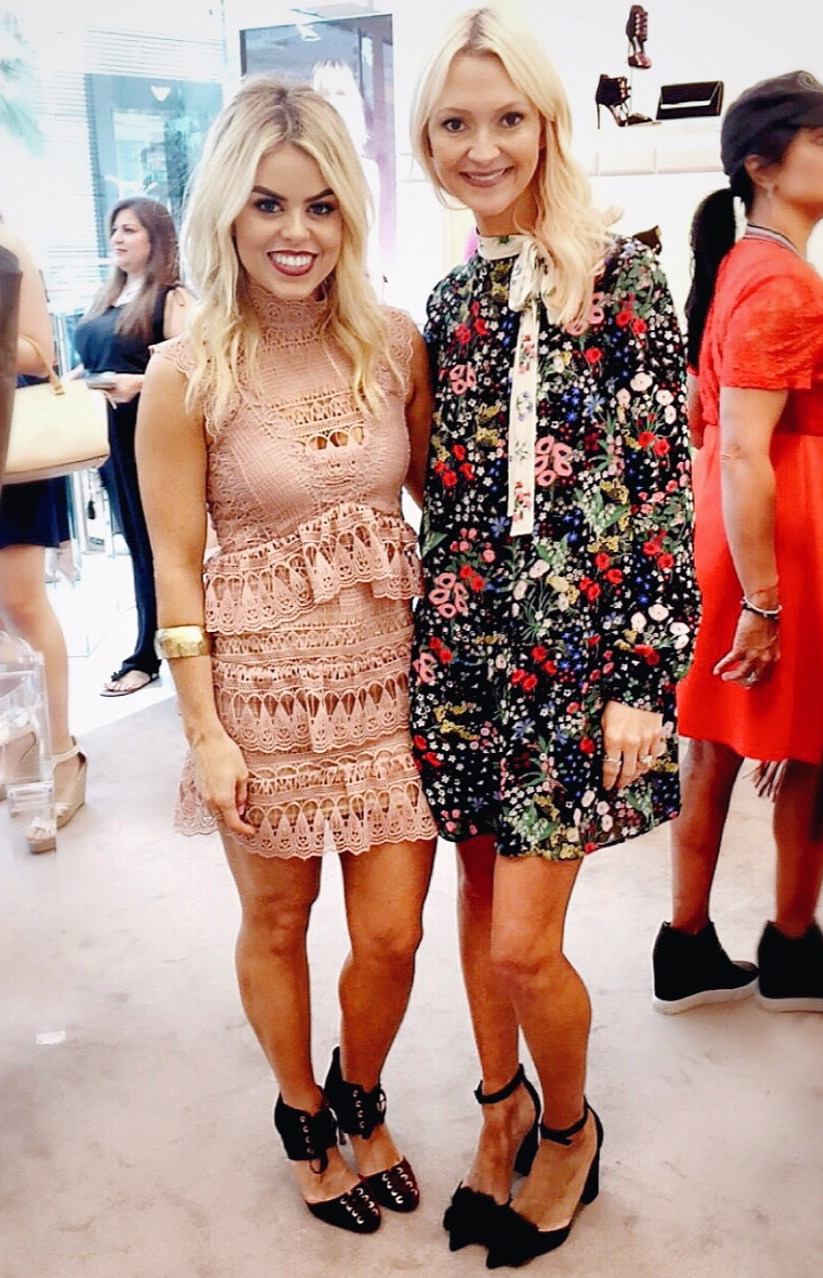 Loved hanging out with Zanna Roberts Rossi, Senior Fashion Editor of Marie Claire USA!
