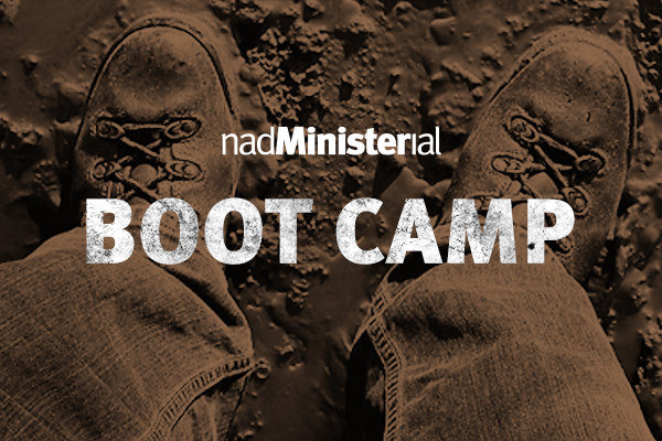 NAD Ministerial boot camp - took place in March, 2013 in Berrien Springs, MI.