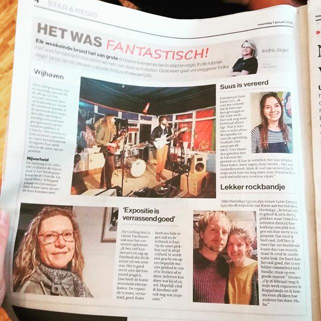 Eerste Editie @koekoek030 is erg positief ontvangen! Tnx @algemeen_dagblad ❤️