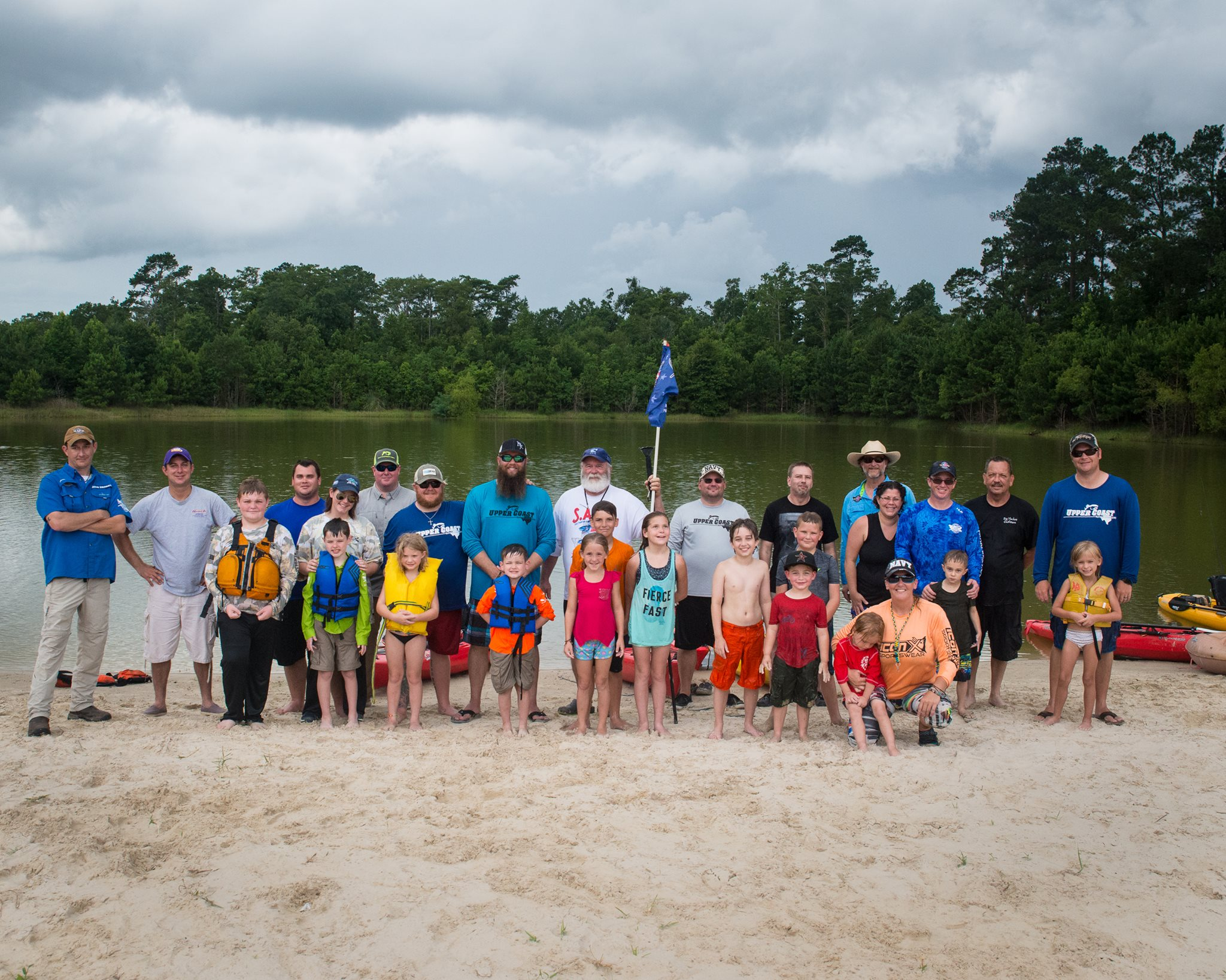 UCKA / HEROES ON THE WATER FAMILY SAFETY DAY 2017 ---SPECIAL THANKS TO OUR GRACIOUS HOSTS @ BIG THICKET OUTFITTERS!!!