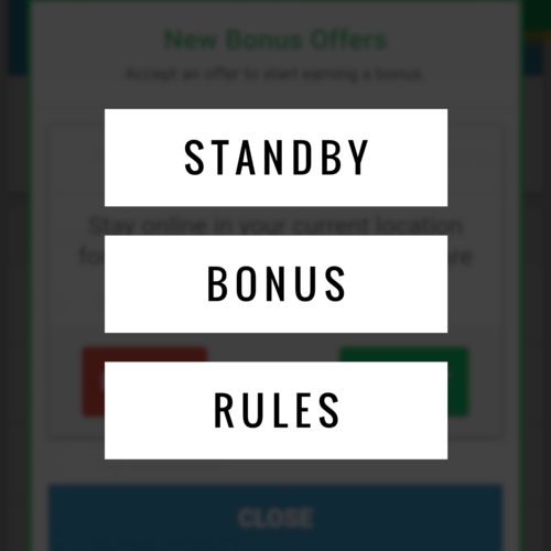 Details regarding the requirements for our Standby Bonus Offers! Click on the image above.