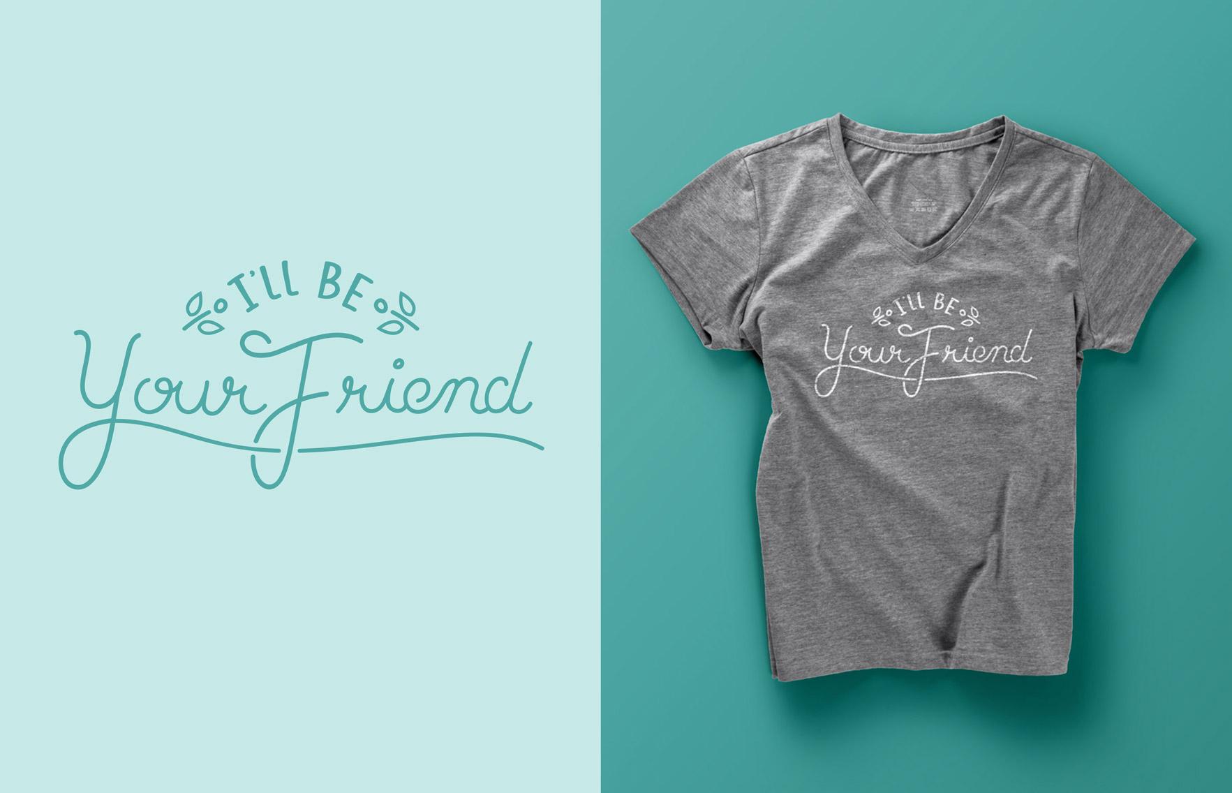 womens-friendship-t-shirt-fuze-branding