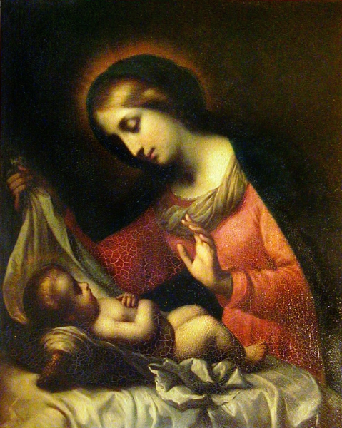 Bardi, after Carlo Dolci - Madonna and Child — St. Johnsbury Athenaeum