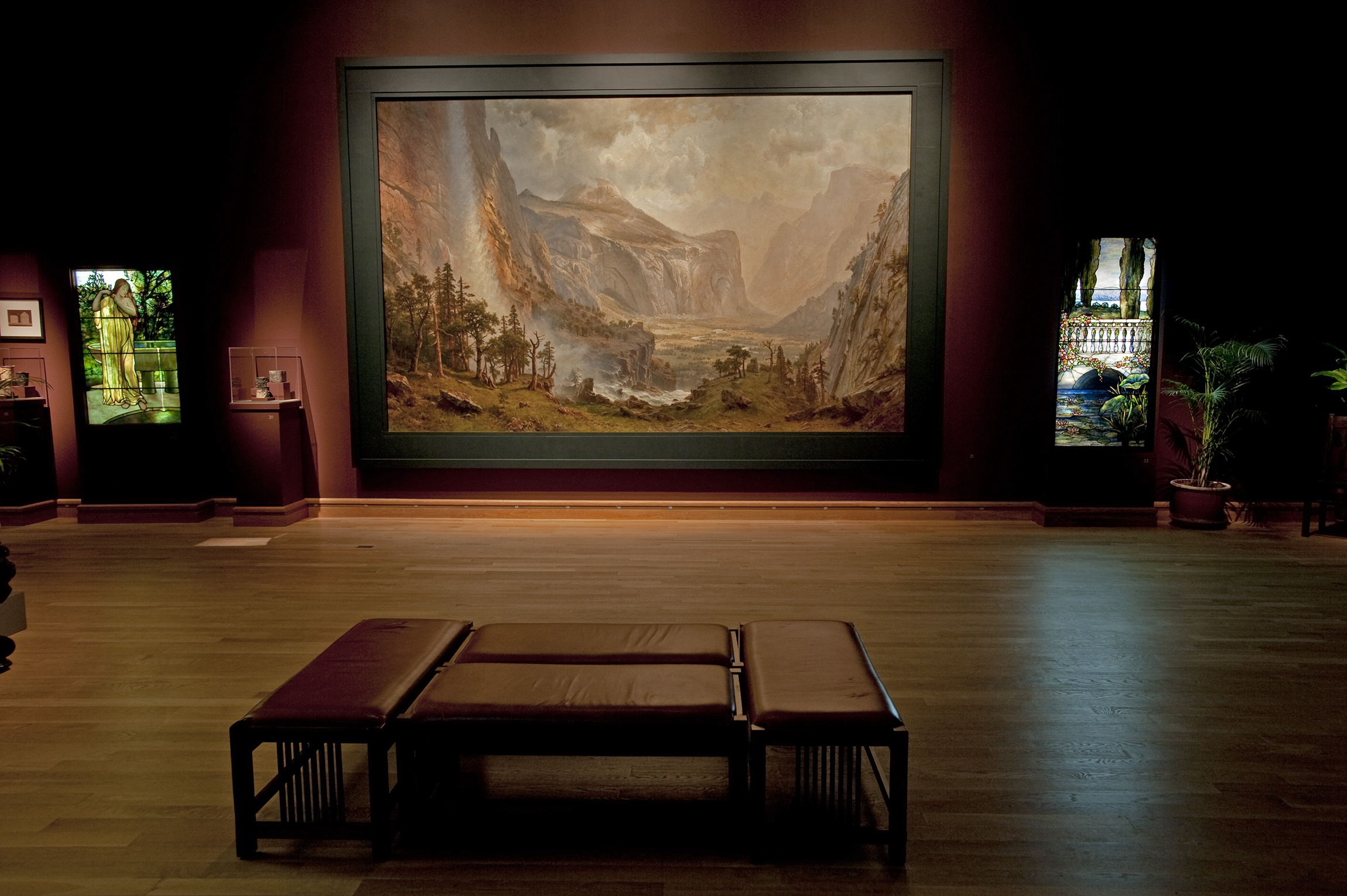 The Domes of the Yosemite  will be at the Morse Museum in Winter Park, FL until July 8, 2008.