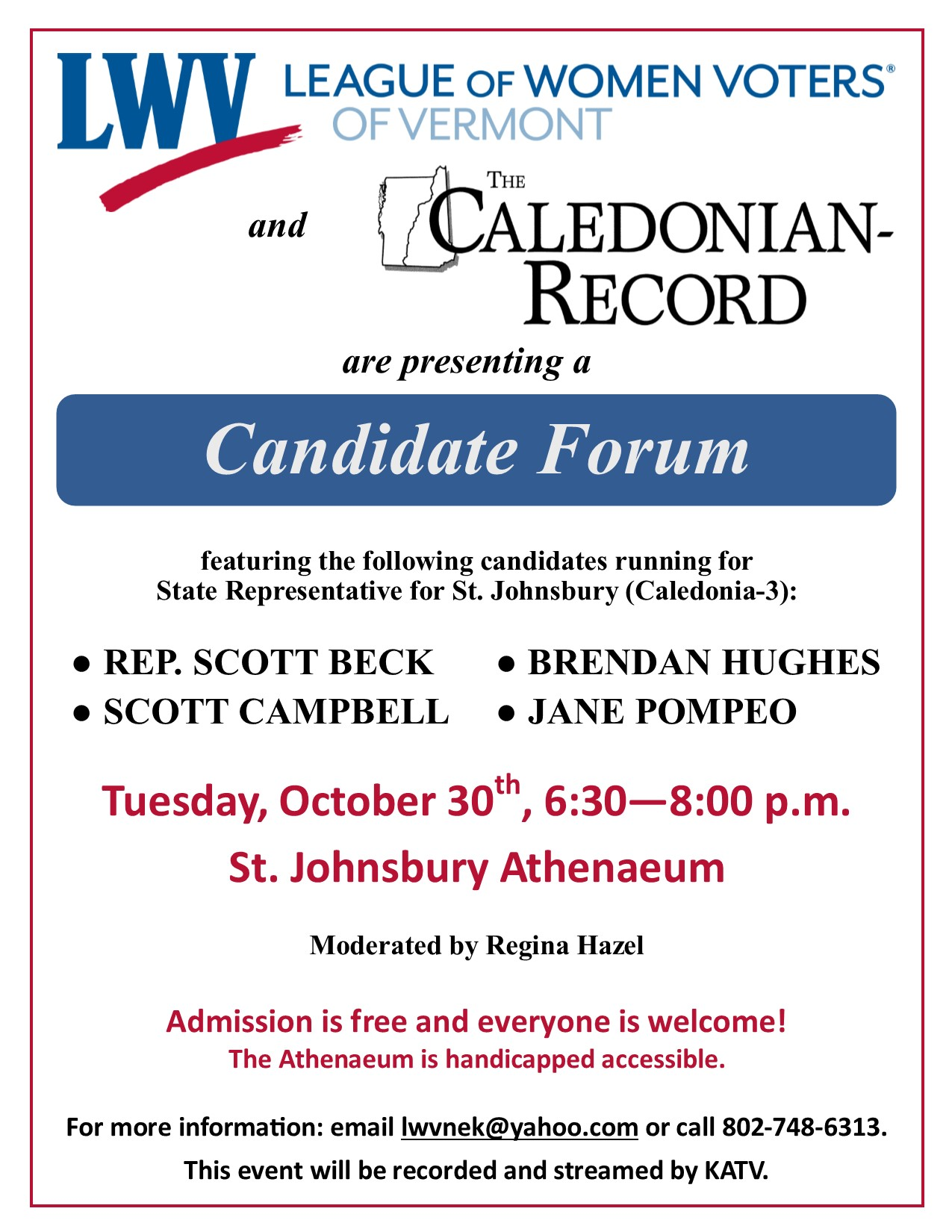 Forum flyer - Candidates Oct 30 2018.jpg