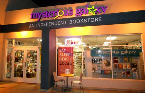 Mysterious Galaxy Bookstore