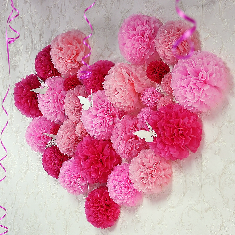 Makers Mess presents paper flower and pompoms