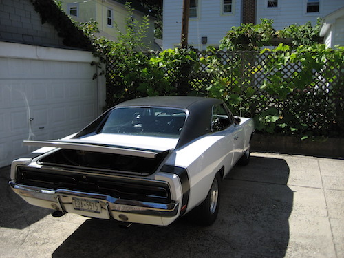 1970 Dodge Charger Rear