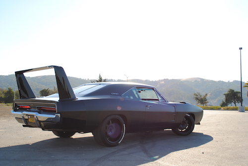 1969 Dodge Daytona Rear