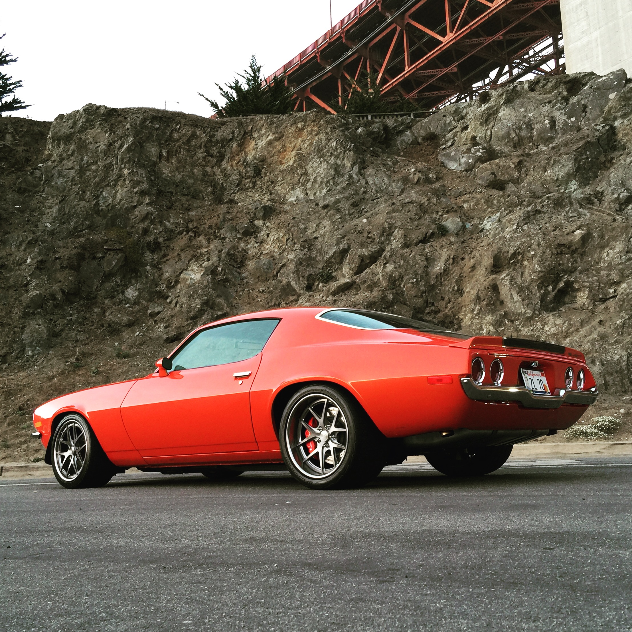 1970 Chevrolet Camaro Inferno Rear