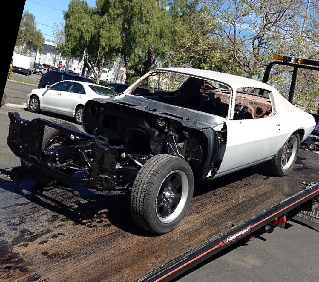 1970 Chevrolet Camaro Inferno In Progress