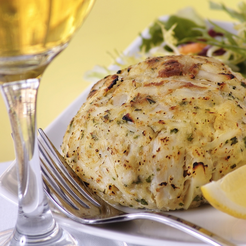 Crab Cakes with Maryland Blue Crab