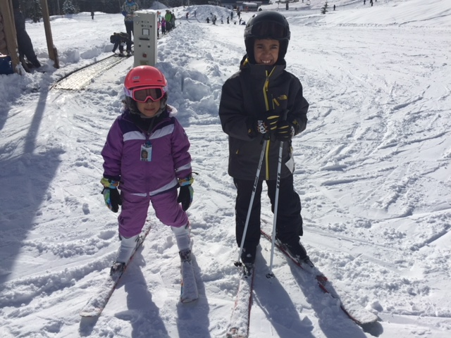 At least my kids actually did learn how to ski! And quite well too.