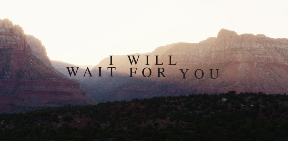 I Will Wait For You (Psalm 130) — Getty Music