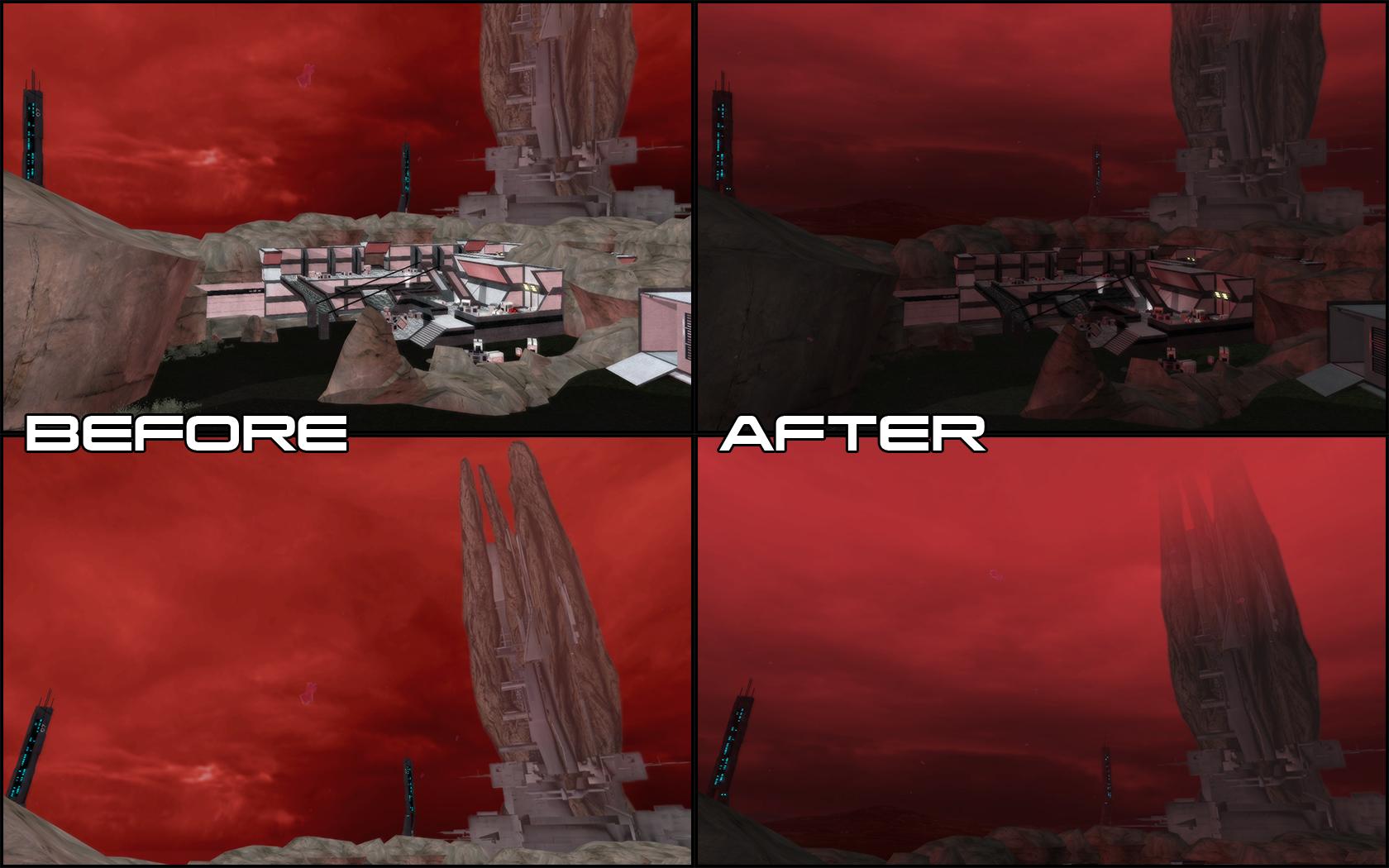 Eden Prime Lighting Overhaul