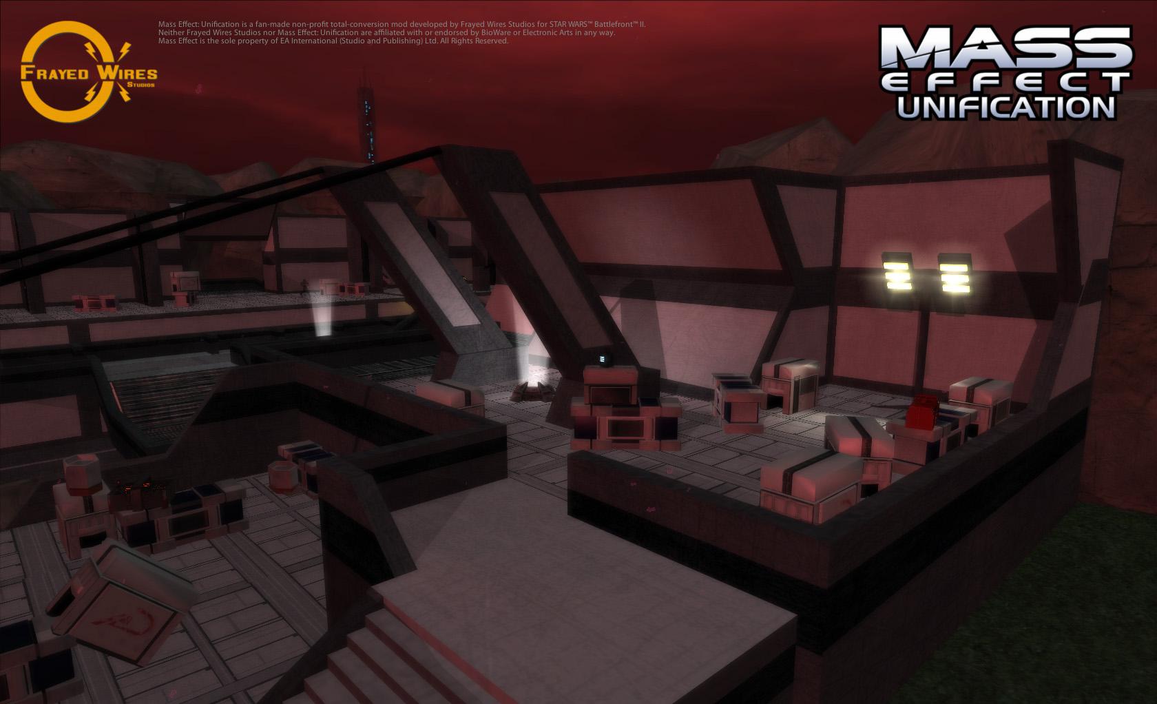Eden Prime: Spaceport