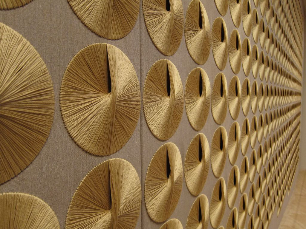 Sheila Hicks' modern textile art