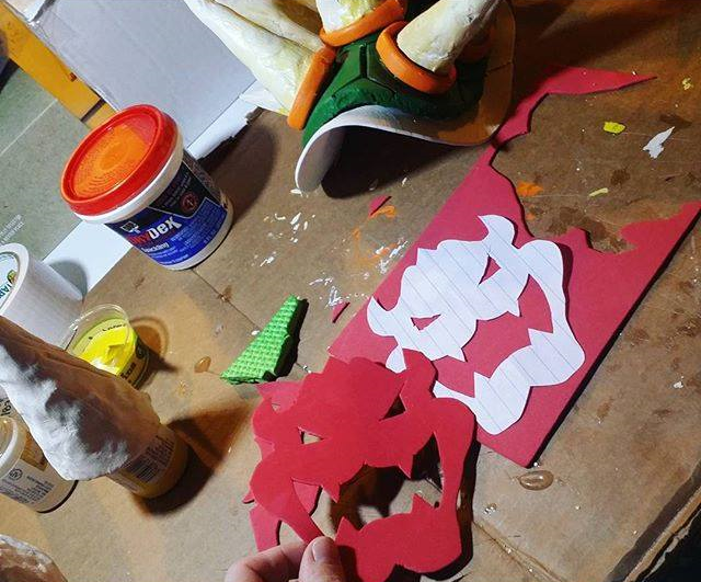 Crafting Bowser Cosplay