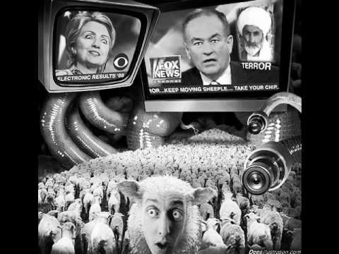 """""""Oh no! Look at all the sheeple who don't agree with me!"""""""