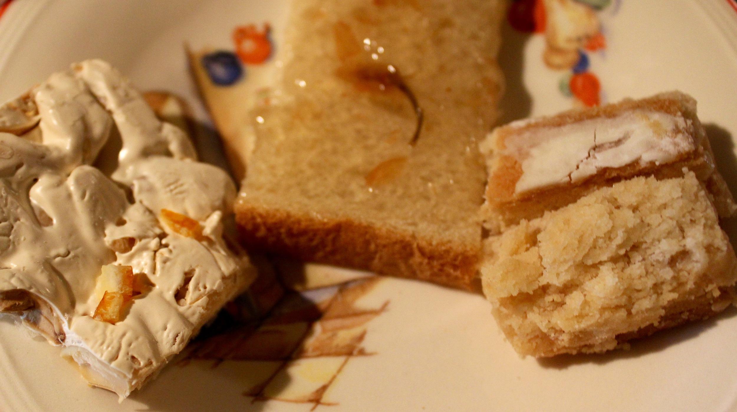 Try the World Desserts! Hooray!