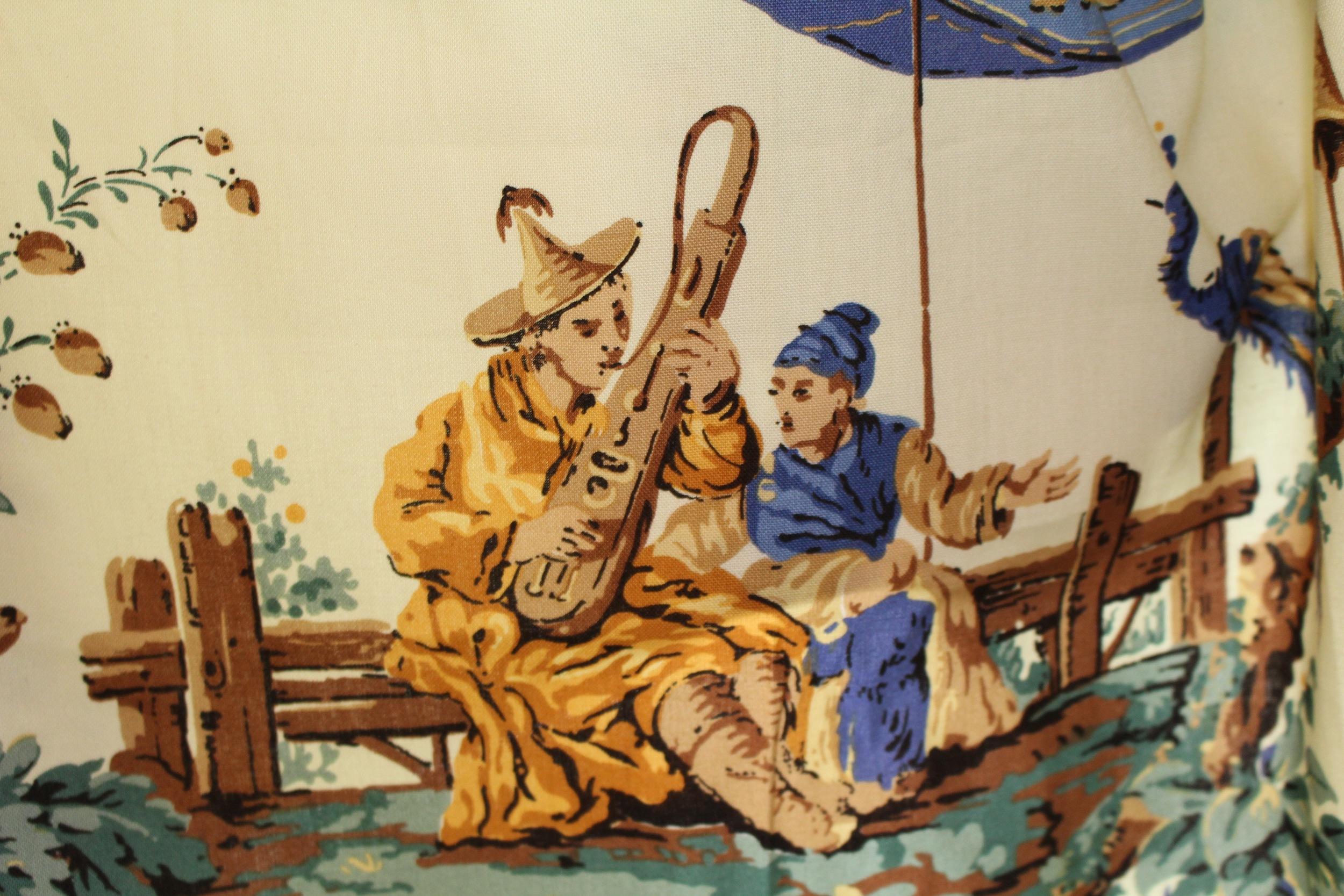 Zoffany, The Emperor's Musician, Yellow Colourway