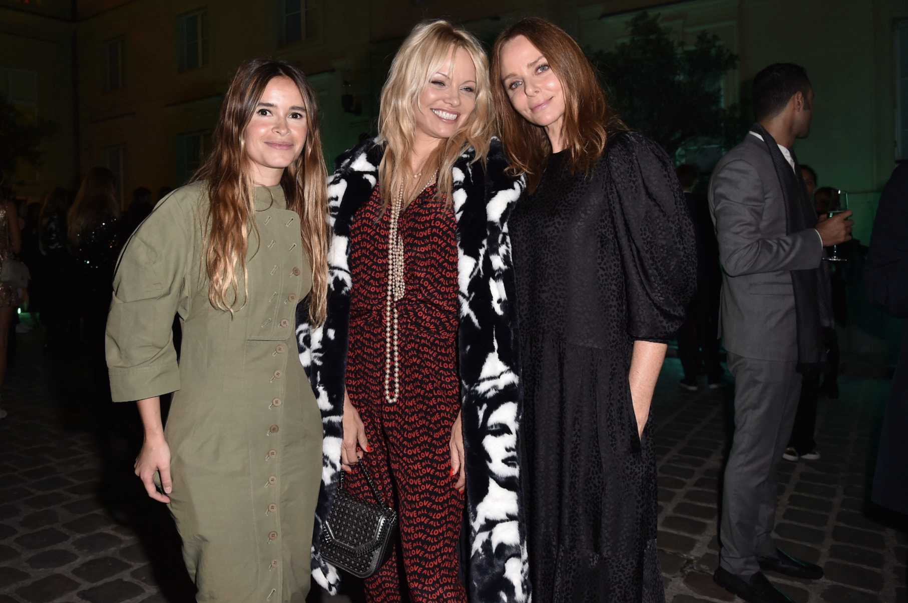 Miroslava Duma, Pamela Anderson and Stella McCartney