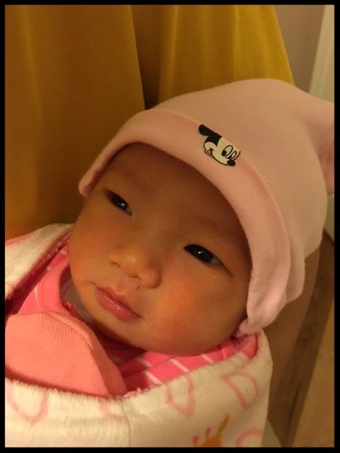 baby alyssa is here!