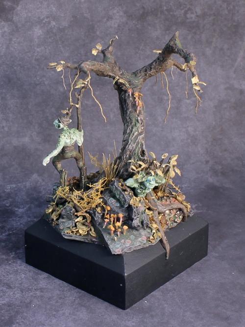 Jason Roy Ford Diorama Bronze