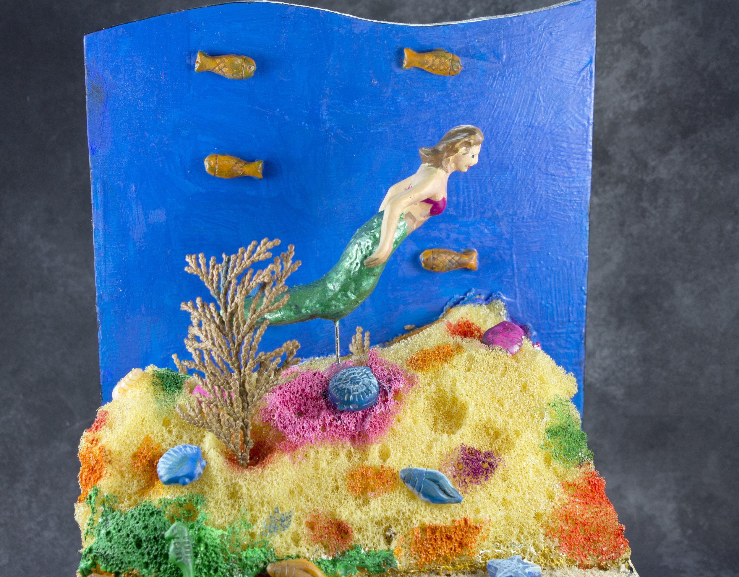Mermaid in the Sea